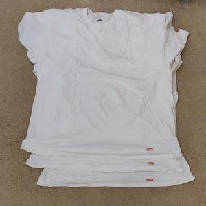 Supreme x Hanes Basic T-Shirt White (3 Pack)